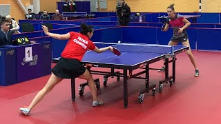 P. TRIFONOVA vs. M. YOVKOVA | Bulgarian Table Tennis Championship 2020 | FINAL