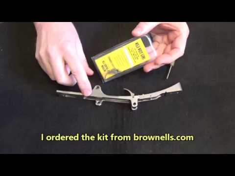 Wild West Guns Trigger Happy Kit Installation in the Marlin 336SS