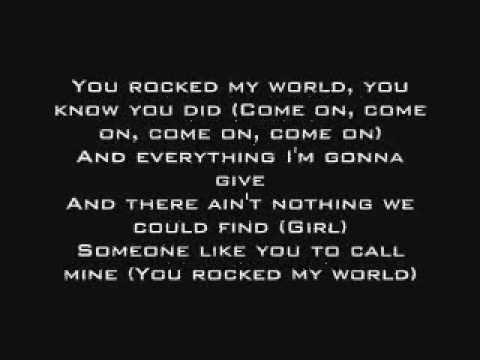 Michael Jackson - You Rock My World ( with LYRICS ) ( HQ )