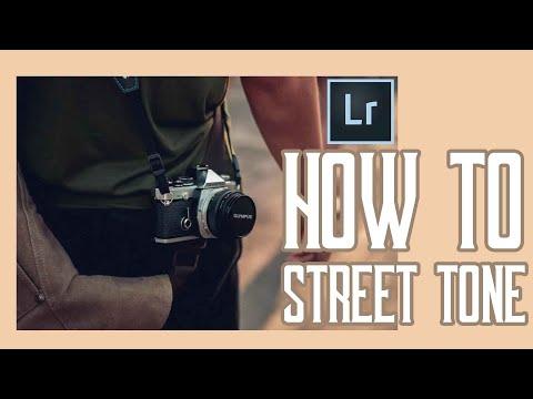 สอนแต่งภาพแนว Street Tone [ Bellr Thaicool ]