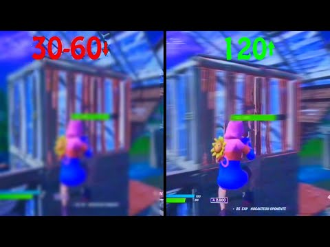TUTORIAL RENDER 120 FPS FORTNITE! CONSOLE XBOX,PS4