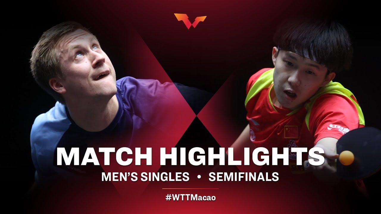 Download Mattias Falck vs Wang Chuqin | WTT Macao Semifinals HIGHLIGHTS