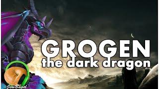 summoners war grogen the dark dragon gameplay spotlight
