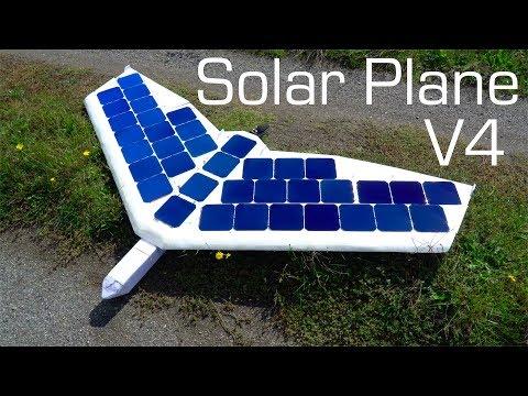SOLAR Plane V4 Flying Wing
