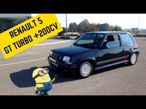 +200HP Renault 5 GT TURBO - Portugal Stock and Modified Car Reviews