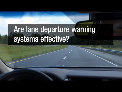 Are lane departure warning systems effective?