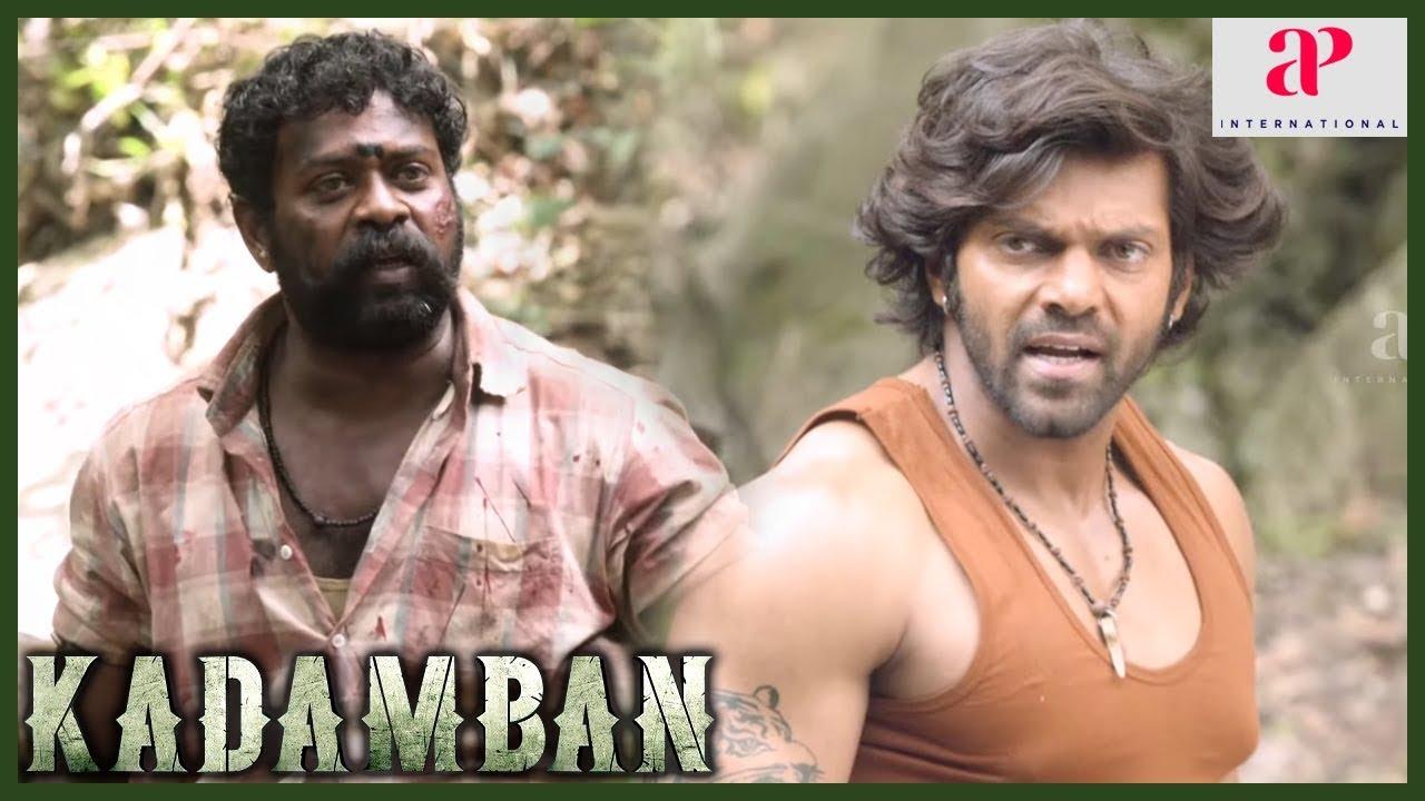 Download Kadamban Tamil Movie Scenes | Arya and DMJ Rajasimhan tricks Deepraj Rana | Catherine Tresa
