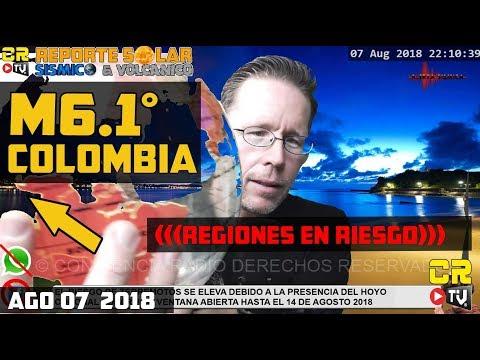 ALERTA SÍSMICA:  M6.1 COLOMBIA | CHILE Y MÉXICO EN RIESGO DE TERREMOTOS ÉSTA SEMANA