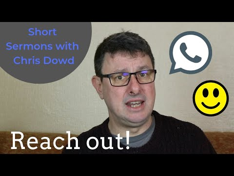 Short Sermons with Chris Dowd: Give That Special Person A Call!