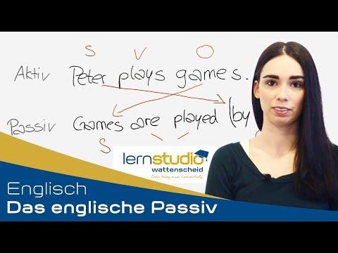 Das Englische Passiv - Englisch Nachhilfe