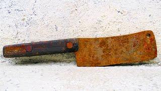 Restoration Rusty Vintage Cleaver