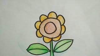 1000+ Gambar Bunga Matahari Untuk Anak Sd  Gratis