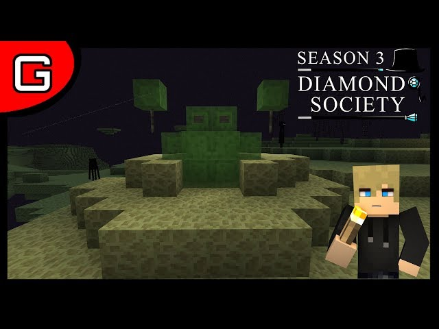 Me and curly in space Diamond Society Season 3 Episode 15 Minecraft vanilla Smp (2018)