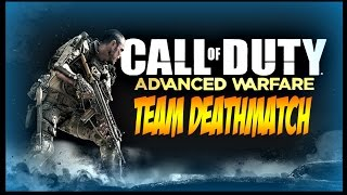 call of duty advanced warfare multiplayer gameplay team deathmatch pt13 ps4 60fps