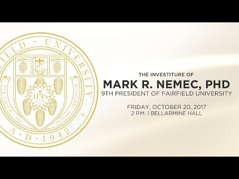Mark R. Nemec, PhD - Installation Ceremony