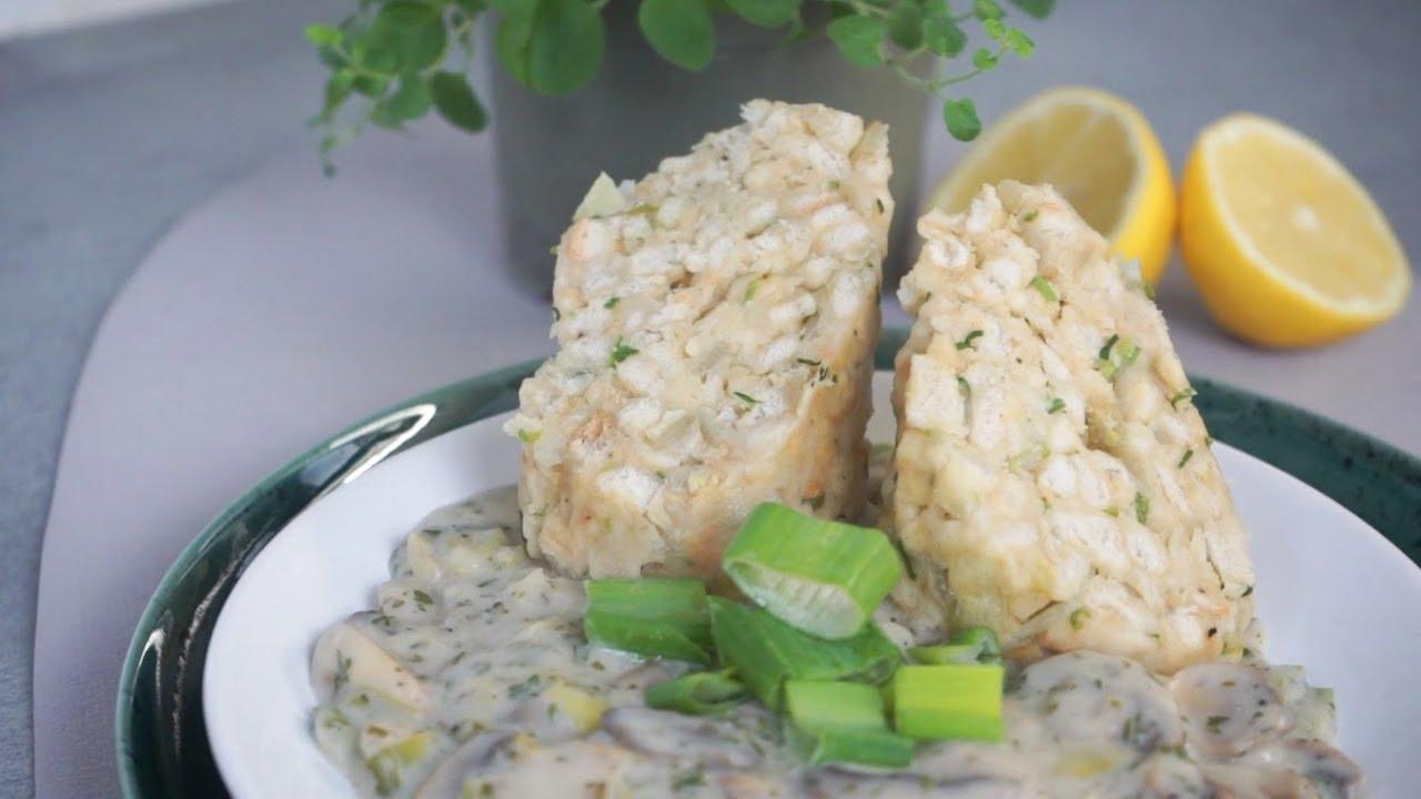 Vegan CHAMPIGNONSAUCE selber machen | schnelles Rezept für vegane Pilzsauce