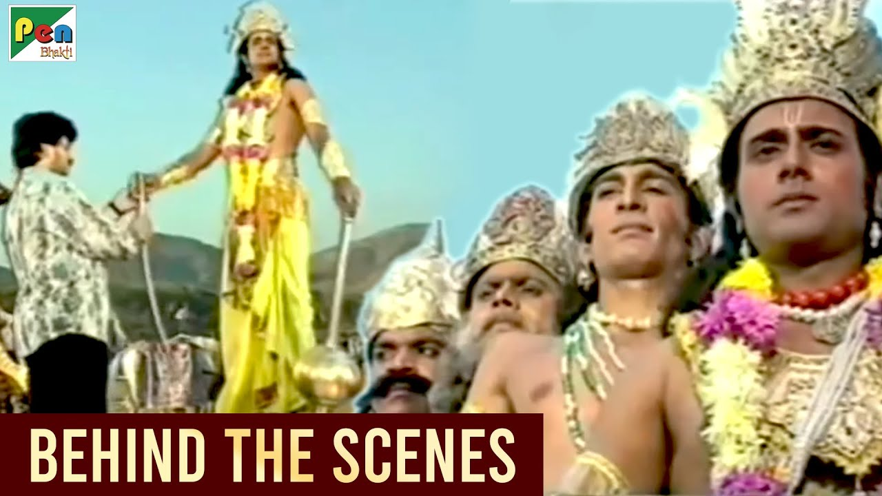 Making of Mahabharat - Part 08 | Behind The Scenes | Mahabharat (महाभारत) | B.R. Chopra | Pen Bhakti
