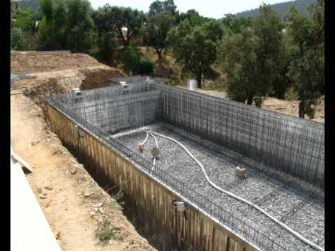 La technique du proc d des piscines by giacomini expert for Construction piscine beton technique