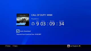 OFFICIAL CALL OF DUTY WW2 COUNTDOWN TIMER - 9 DAYS UNTIL RELEASE! - CALL OF DUTY WWII