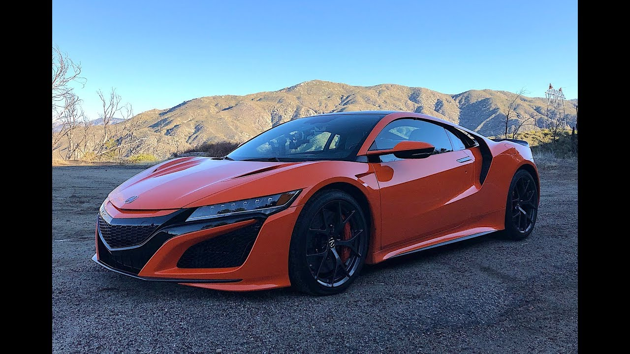 2019 Acura NSX - Just the Noise