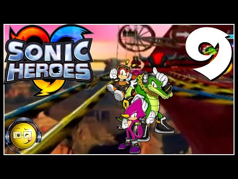 Let's Stream (Blind) Sonic Heroes Session 9: Beginning Team Chaotix!
