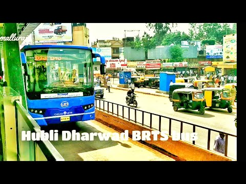Brts newly launched buses Hubli-Dharwa