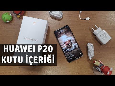 Huawei P20 Ön İnceleme / Kutu Açılışı