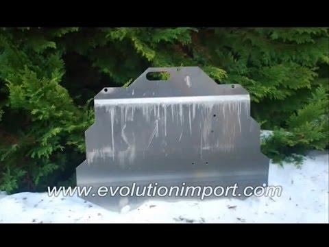 Evolution Import Skid Plate Demo