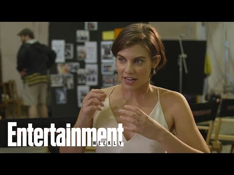 The Walking Dead: Why Lauren Cohan Felt Tension On Her First Day Filming  Entertainment Weekly