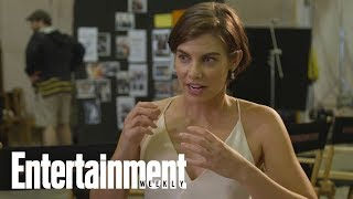 The Walking Dead: Why Lauren Cohan Felt Tension On Her First Day Filming | Entertainment Weekly