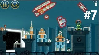 ЭНГРИ БЕРДЗ ЗВЕЗДНЫЕ ВОЙНЫ игра как мультик часть 7, Angry Birds Star Wars part 7
