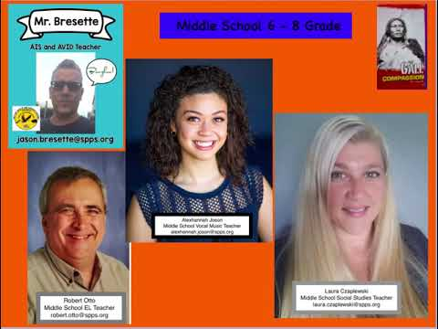 American Indian Magnet School 2020:21 staff video