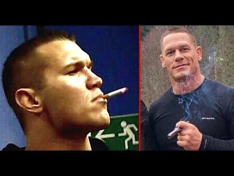 10 Most Shocking WWE Wrestlers Who Smoke in Real Life