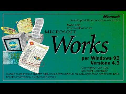 Le Rarità in Italiano! #15: Microsoft Works 4.5