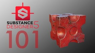 Substance Designer 5 - Introduccion - Tutorial Español