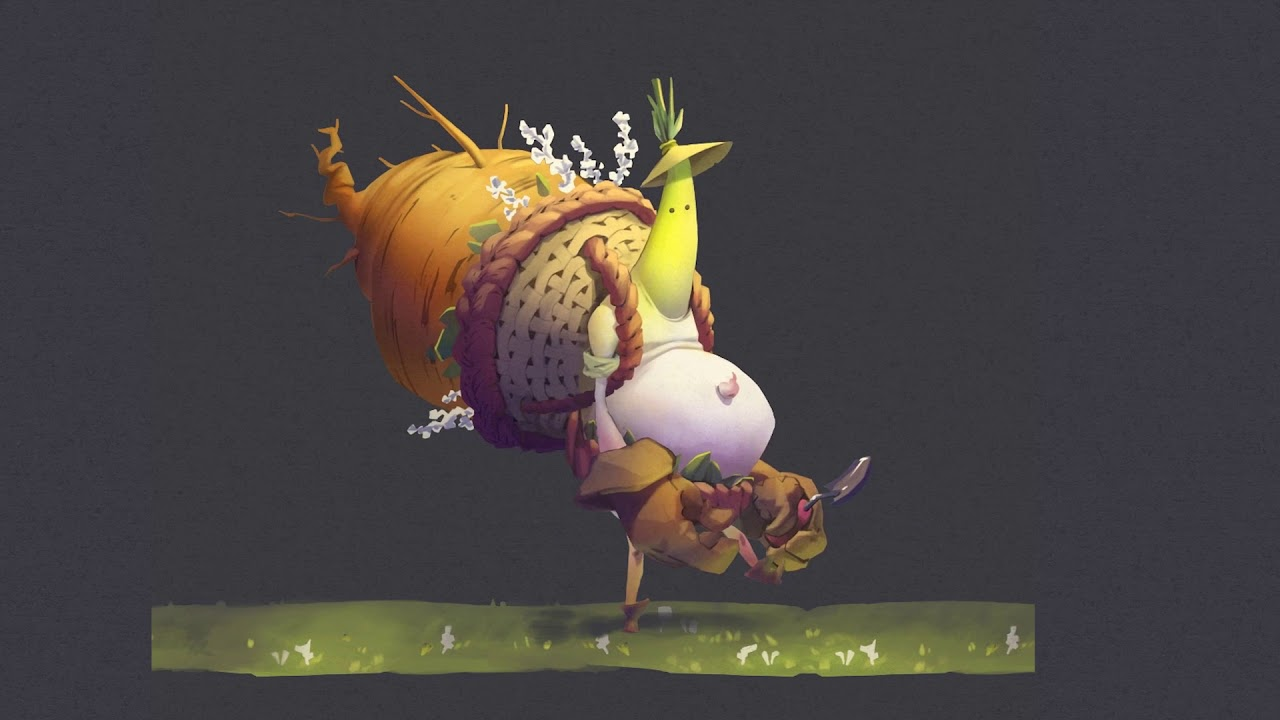 Radish Creature Animation