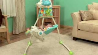 BABYSITTER - Fisher- Price Precious Planet Open Top Cradle Swing