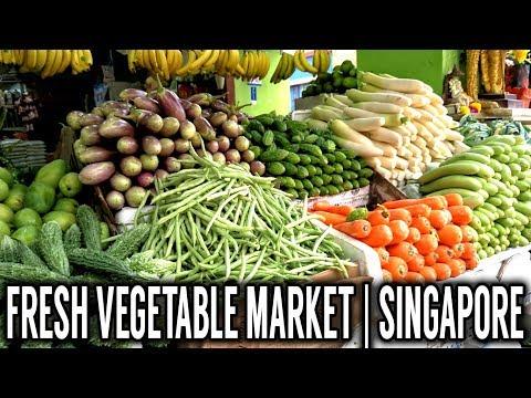 Fresh Vegetable Market    Singapore