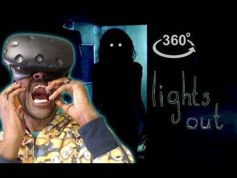 Thumbnail: I'm Never Turning My Lights Off!! | 360° Horror | Inspired By Lights Out REACTION