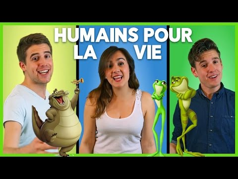 """""""Humains pour la vie"""" (When We're Human) - Princess and the frog French cover"""