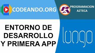 Crear mi primera aplicación web con lungo framework