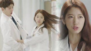 Yoon Kyun Sang, cute reaction at Park Shin Hye's action 《The Doctors》 닥터스 EP07