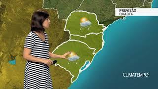 Previsão Sul – Calor e temporais