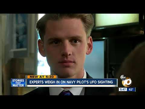 Experts weigh in on Navy pilot's UFO sighting