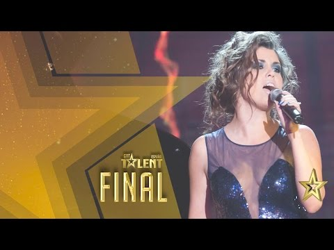 And the winner is... CRISTINA RAMOS! Congratulations! | Grand Final | Spain's Got Talent 2016