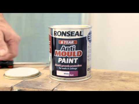 How To Prevent Mould In The Bathroom With Anti Mould Paint YouTube - Bathroom paint to prevent mold
