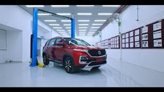 MG Hector India Factory- Hector Production Video
