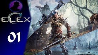 Let's Play Elex - Part 1 - Treasure-Loot & Gameplay!