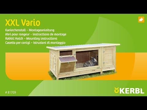 Kaninchenstall XXL Vario (#81709) - Montageanleitung