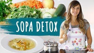 Sopa para bajar de peso- DETOX